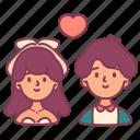 couple, heart, love, man, married, valentine, woman