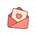 email, heart, letter, love, message, valentine