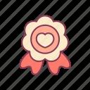 award, favorite, like, love, reward, sweet, valentine icon