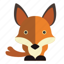 animal, fox, sweet, sweet fox icon