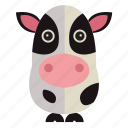 animal, cow, sweet, sweet cow icon