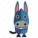 animal, donkey, sweet, sweet donkey icon