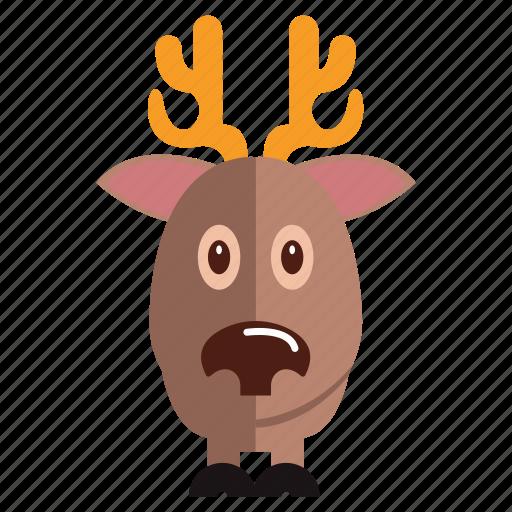 animal, deer, sweet, sweet deer icon