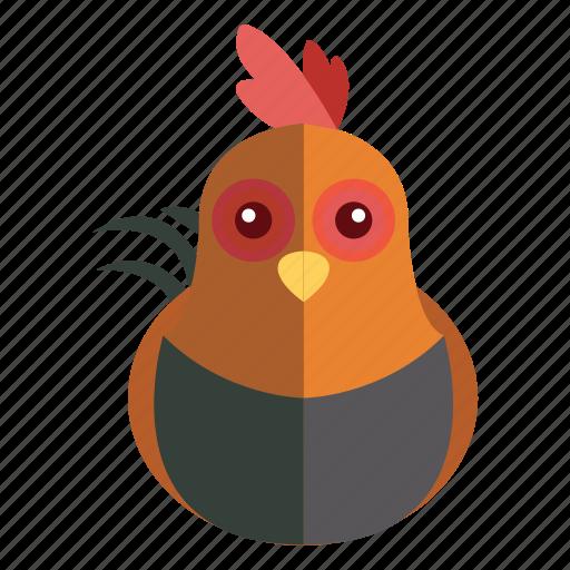 animal, chicken, sweet chicken icon