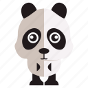 animal, panda, sweet, sweet panda icon