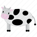 animal, bufallo, cow, milk, sweet icon