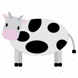animal, bufallo, cow, milk, sweet icon