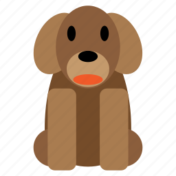 animal, dog, funny, pet, puppy, sweet icon
