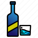 bottle, cup, drink, glass, wine