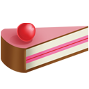 cake, cream, ice, slice icon