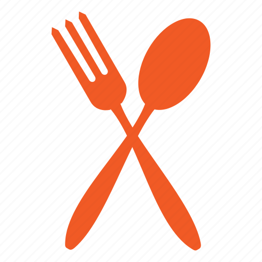 and, cook, cooking, fork, kitchen, spoon, tool icon