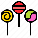 candy, confectionery, lollipop, sweets icon
