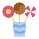 candy, confectionery, dessert, lollipop, sweets icon
