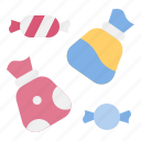 bag, candy, candy bag, confectionery, sweets, toffee icon