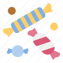 candy, chewy, dessert, sweets, toffee icon