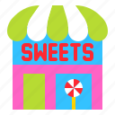 candy, confectionery, lollipop, shop, store, sweets icon