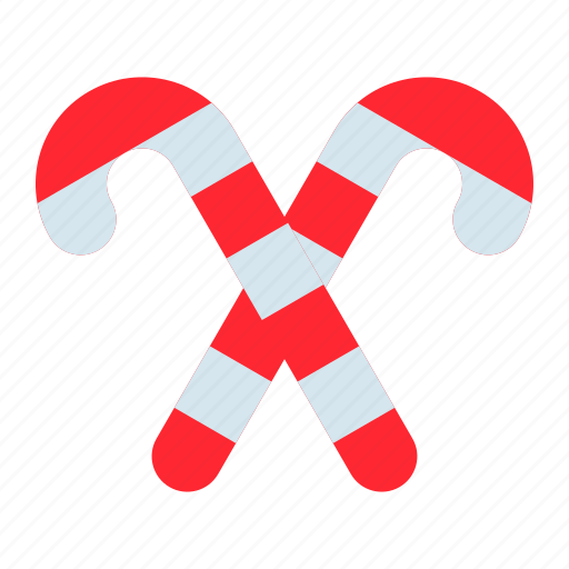 candy, candy cane, christmas, confectionery, sweets icon