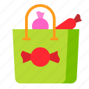 bag, candy, candy bag, shopping, sweets icon