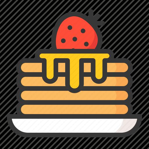 Dessert, food, pancake, sweets icon - Download on Iconfinder