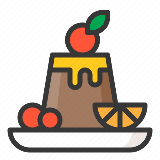 Dessert, food, pudding, sweets icon - Download on Iconfinder