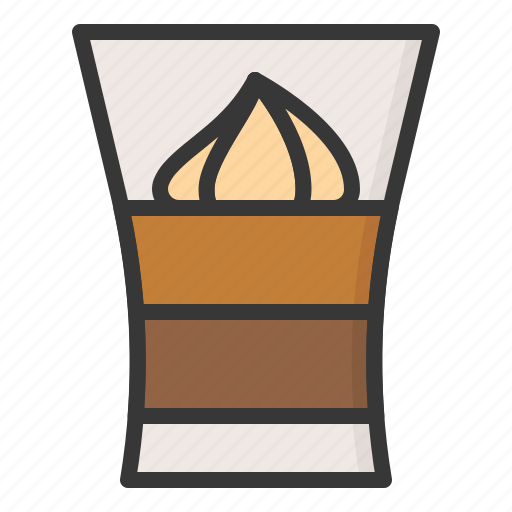Dessert, food, shot glass desserts, sweets icon - Download on Iconfinder
