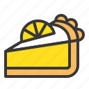 cheesecake, dessert, food, sweets icon