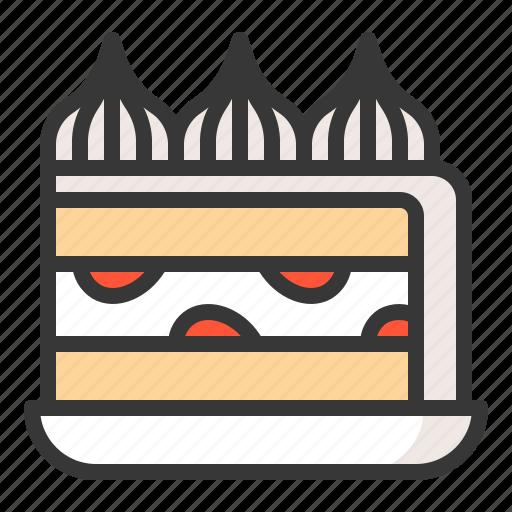 Cake, dessert, food, sweets icon - Download on Iconfinder