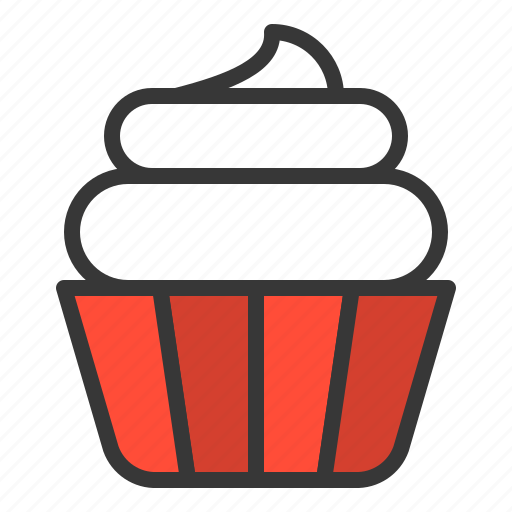 Cupcake, dessert, food, sweets icon - Download on Iconfinder