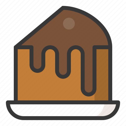 Cake, chocolate cake, dessert, food, sweets icon - Download on Iconfinder