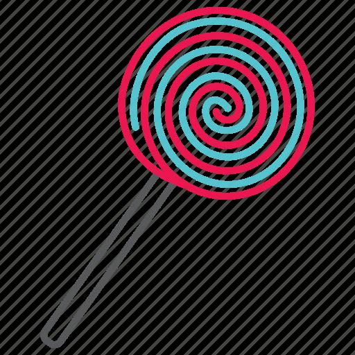 bicolour lollipops, candy, celebration, food, fruit, lollipops, sweet icon