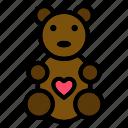 chocolate, bear, candy, sweet