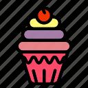 cup, cake, dessert, sweet, food