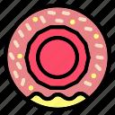 donut, bakery, dessert, doughnut, food, sweet