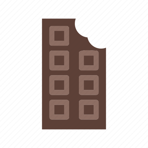 bar, candy, chocolate, cocoa, cream, flavor, food icon