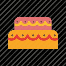 birthday, cake, chocolate, cream, dessert, food, mousse icon