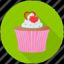 cream cake, cupcake, dessert, raspberry cupcake, velvet cupcake