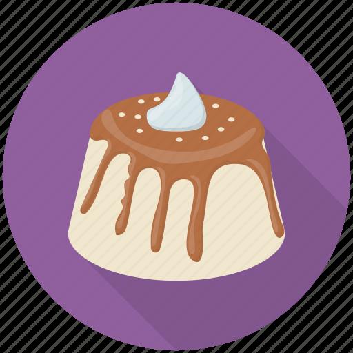 Birthday cake, choco-melted cake, cream cake, dessert, party cake icon - Download on Iconfinder