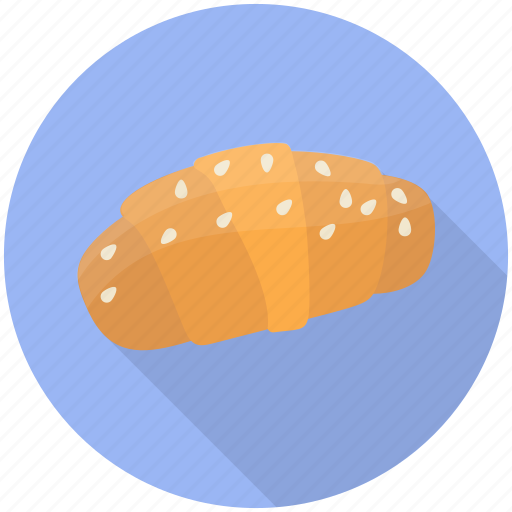 bakery food, butter croissant, croissant, croissant pastry, dessert icon
