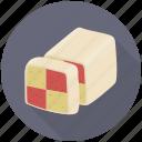 cake, cake cube, cake piece, cake slice, sweet food icon