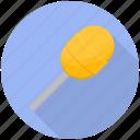 candy, candy stick, lemon lollipop, lollipop, sweet icon