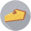 cake slice, lemon cake, lemon pastry, lemon pie, lemon tart icon