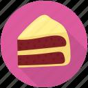 bakery food, cake piece, cake slice, red velvet cake, velvet cake