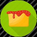 bakery food, cupcake, red velvet cupcake, velvet cake icon