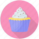 coconut cake, coconut cupcake, cream cake, cupcake, dessert