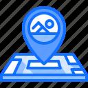 location, map, pin, swim, swimmer, swimming, water
