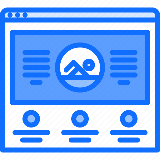 information, news, swim, swimmer, swimming, water, website icon