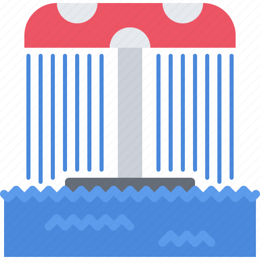 attraction, park, swim, swimmer, swimming, water icon