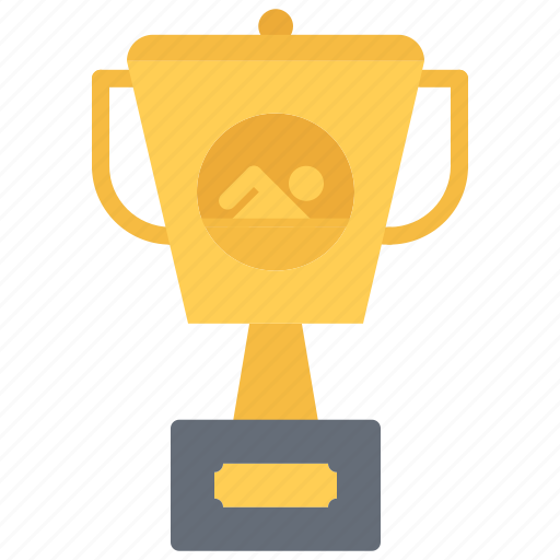 award, cup, swim, swimmer, swimming, water icon