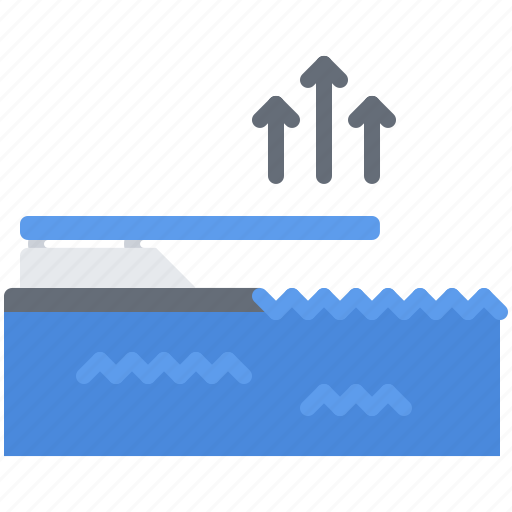 Pedestal, pool, springboard, swim, swimmer, swimming, water icon - Download on Iconfinder