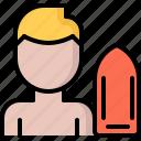 buoy, lifebuoy, lifeguard, swim, swimmer, swimming, water icon